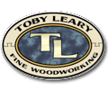 Toby Leary Brand Cabinet logo.