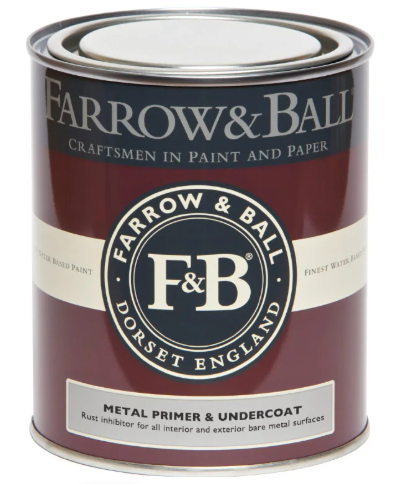 Farrow & Ball Metal Primer & Undercoat sold by Toby Leary Fine Woodworking