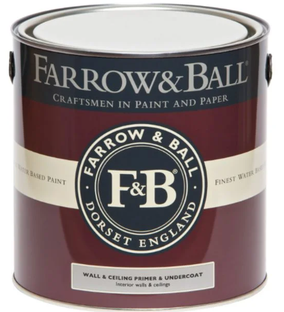 Farrow & Ball Wall & Ceiling Primer & Undercoat sold by Toby Leary Fine Woodworking