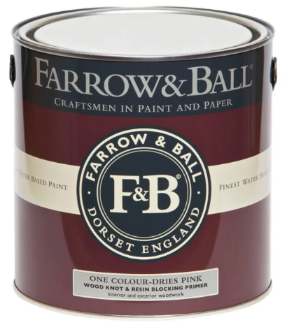 Farrow & Ball Wood Knot Primer & Undercoat sold by Toby Leary Fine Woodworking